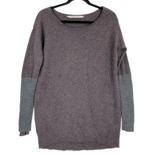 Athleta purple long sleeve Nopa tunic sweater 9669